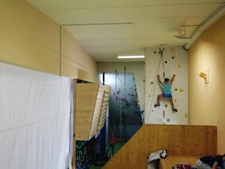 DAV-Kletterwand