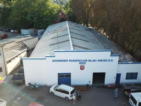 Bootshalle, Fitness- und Kraftraum, Ruderbecken